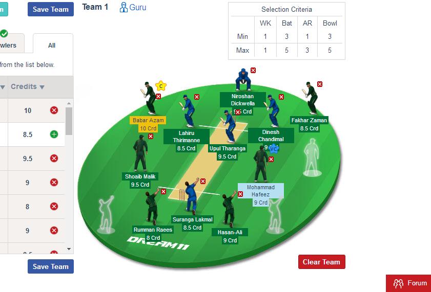 PAK vs SL expert Dream11 Fantasy Cricket Team Prediction 2nd ODI 16TH October