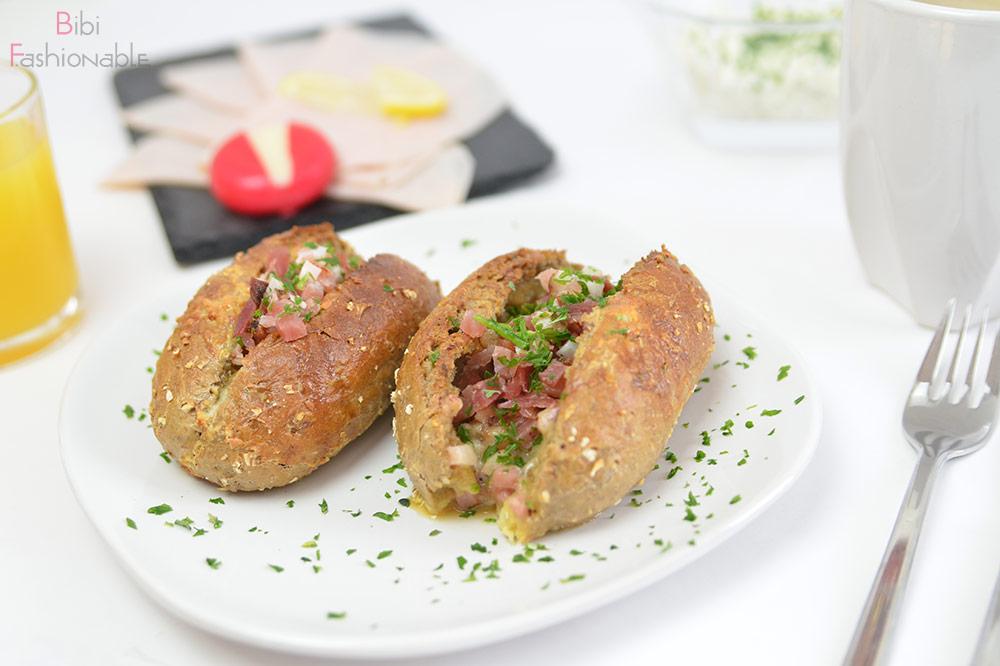 easygoingdish pikant gefüllte Frühstücksbrötchen Titelbild