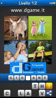 PACCHETTO 6 Soluzioni Trova la Parola - Foto Quiz con Immagini e Parole livello 12