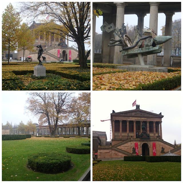 Alte Nationalgalerie, Ilha dos Museus, Berlim