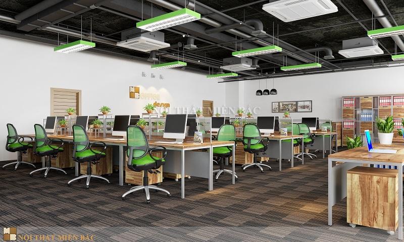 Thiết kế nội thất phòng làm việc chuyên nghiệp, khoa học