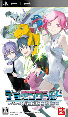 Digimon World Re:Digitize Full ENG Patched PSP GAME ISO