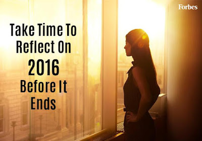Take Time To Reflect On The Year 2016 Before It Ends.