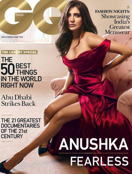 Anushka Sharma on GQ India - Dec 2016