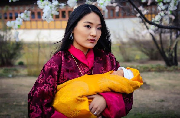 The citizens of small Kingdom of Bhutan came together and planted 108,000 trees in honor of the birth of newborn prince who is the heir of Bhutan throne