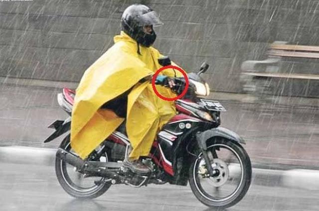 Trik Berkendara Saat Musim Hujan, Begini Cara Mengerem yang Aman