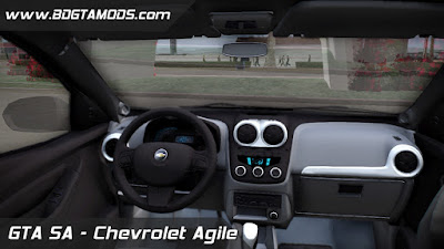 Download Chevrolet Agile para GTA SAN ANDREAS 4