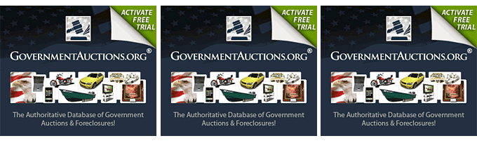 Free Trial! Government Auctions