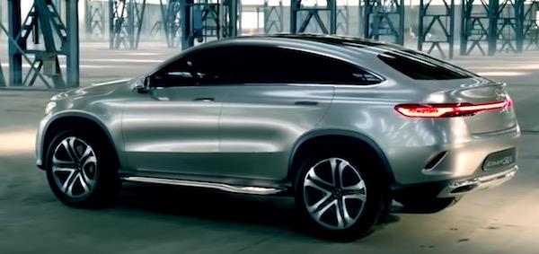 Mercedes GLE Coupé 2018