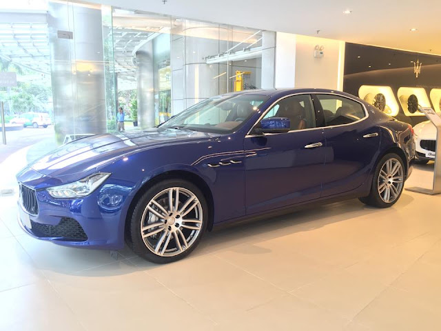 Giá xe Maserati Ghibli bao nhiêu tại Việt Nam