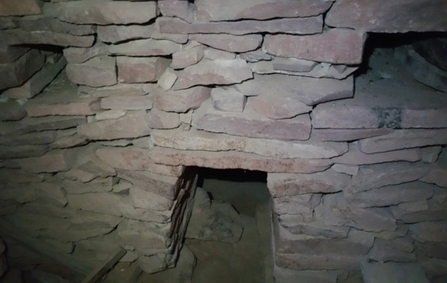 Apache Death Cave at Two Guns Arizona ghost town