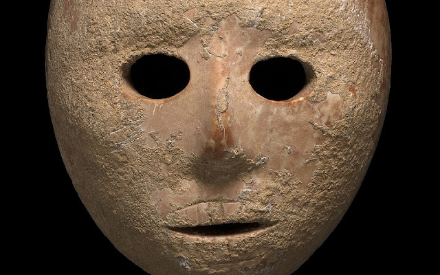 9,000-year-old stone mask unveiled in Israel