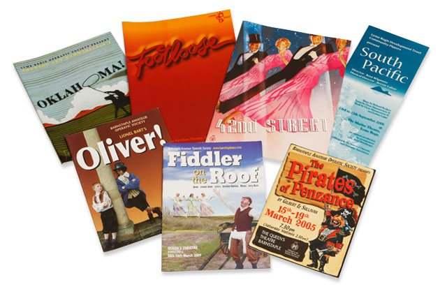 image of programmes for sale