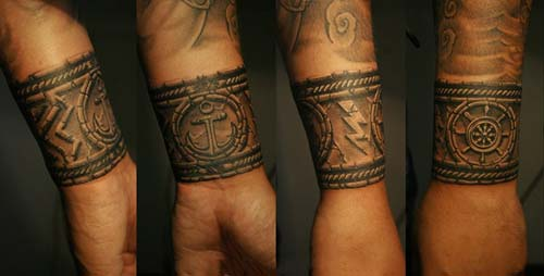 erkek bilek bandı dövmeleri wristband  tattoos for men