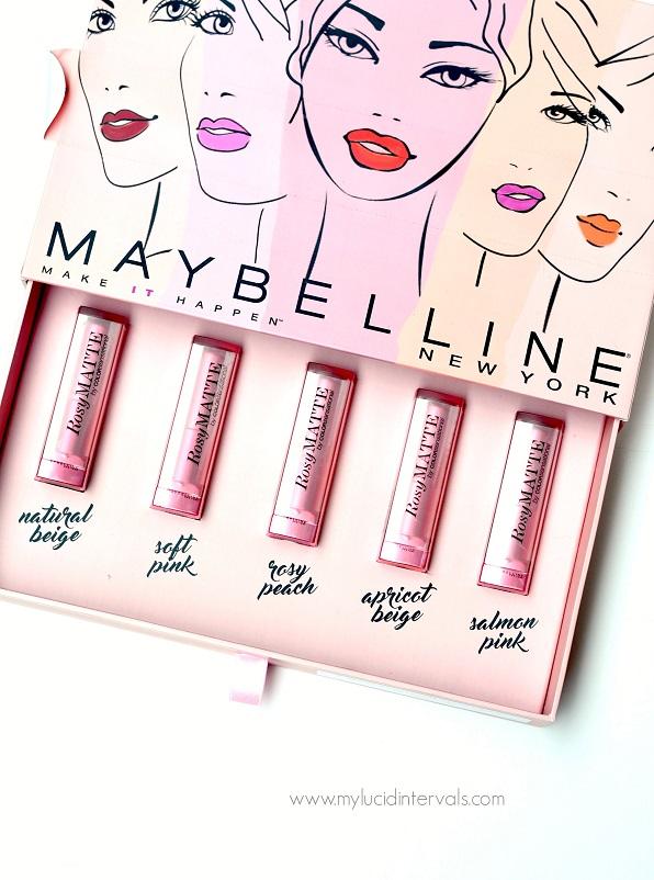 Maybelline Rosy Matte Lipstick