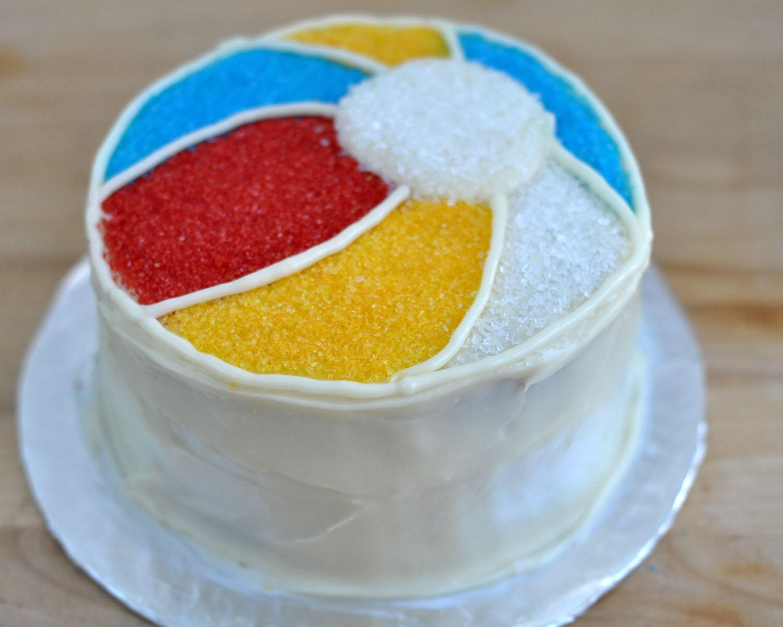 Beki Cook's Cake Blog: Easy Beach Ball Cake