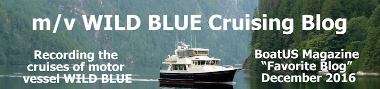 m/v WILD BLUE Cruising Blog