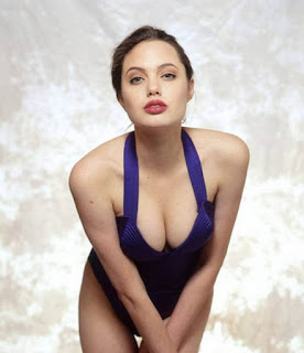 angelina jolie big boobs photos