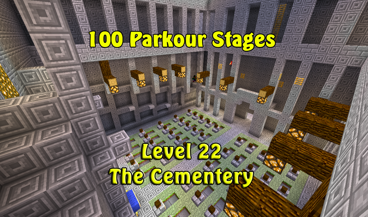 Parkour Without floating BLOCKS] 100 Parkour Stages 50/100 (You can