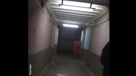 Inquietante 'Fantasma' filmado por guardias de seguridad perturbados