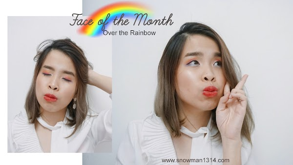 Rainbow Eye Look Face of The Month