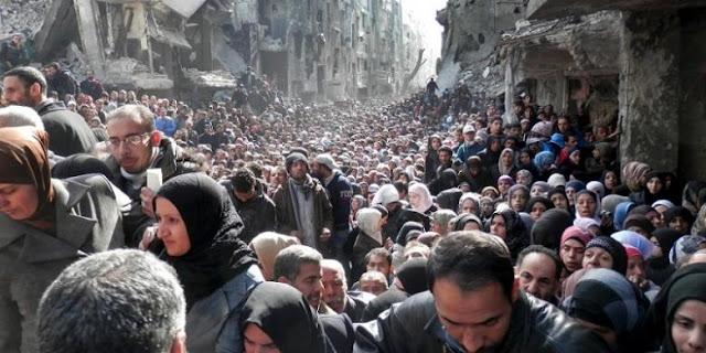 Pengungsi Suriah Akibat Konflik Berkepanjangan