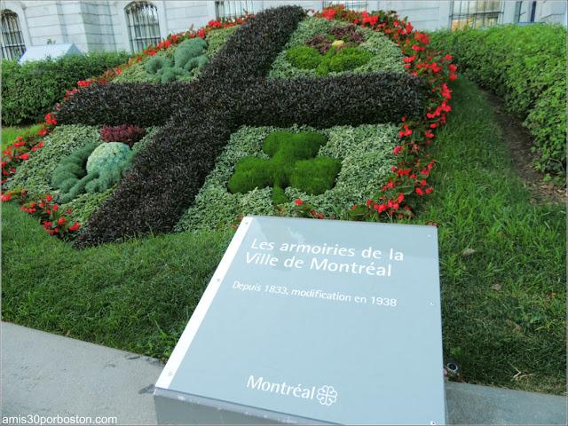 Ayuntamiento de Montreal: Escudo de Armas
