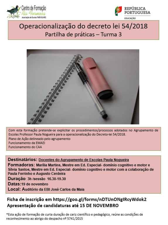 cartaz Operacionalização T3