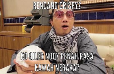10 Meme ' Rendang Crispy' Ini Nyindir Juri Acara Masak, Bikin Ngakak!