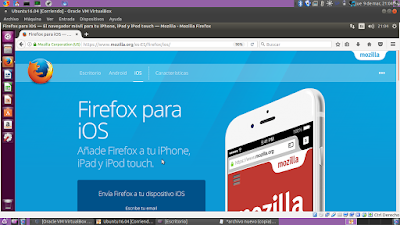 Firefox para iPhone, iPad y iPod touch