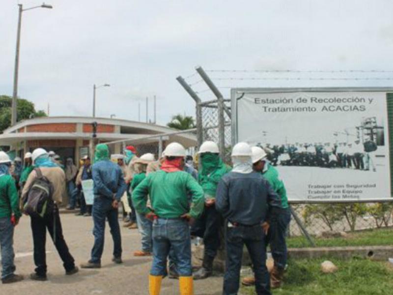Ecopetrol deja sin salario a  1.889 trabajadores en el Meta