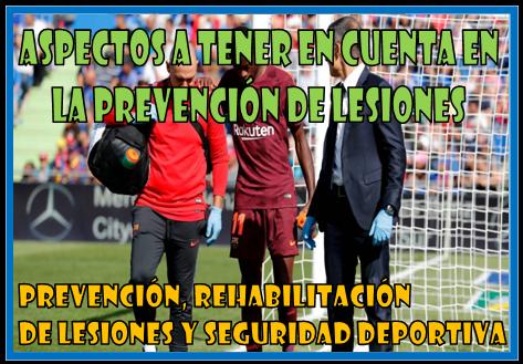 Prevencion de lesiones en el futbol