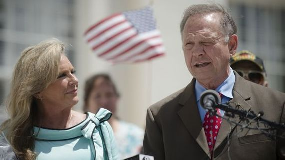 Roy and Kayla Moore