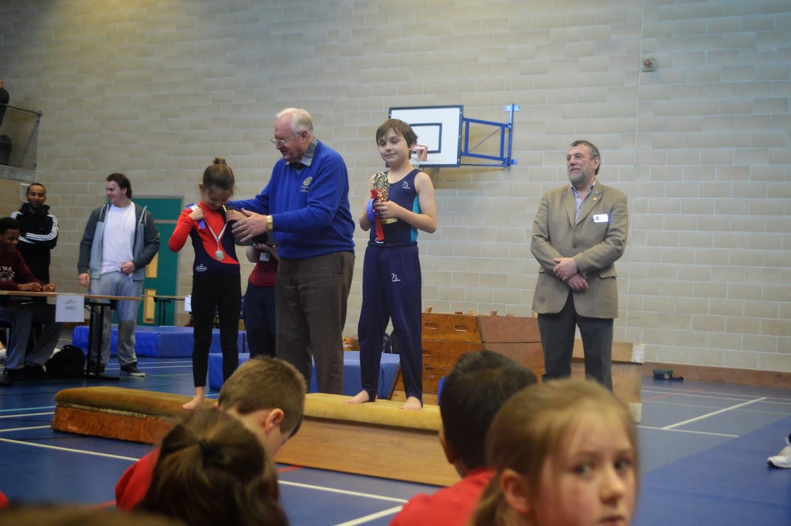 Danny Gymnastics Competition
