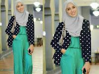Inspirasi Jumpsuit Plus Hijab yang Bisa Bikin Kamu Makin Stylish
