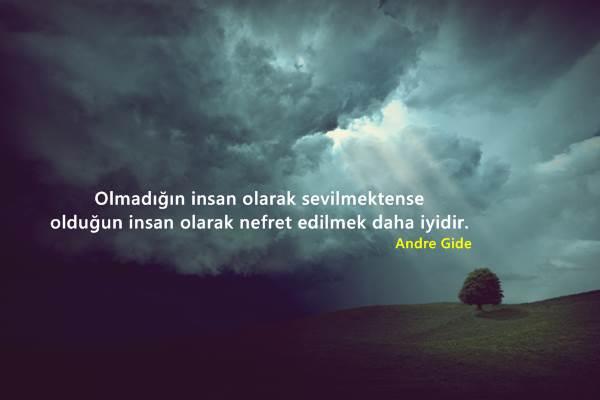 Andre Gide Sözleri