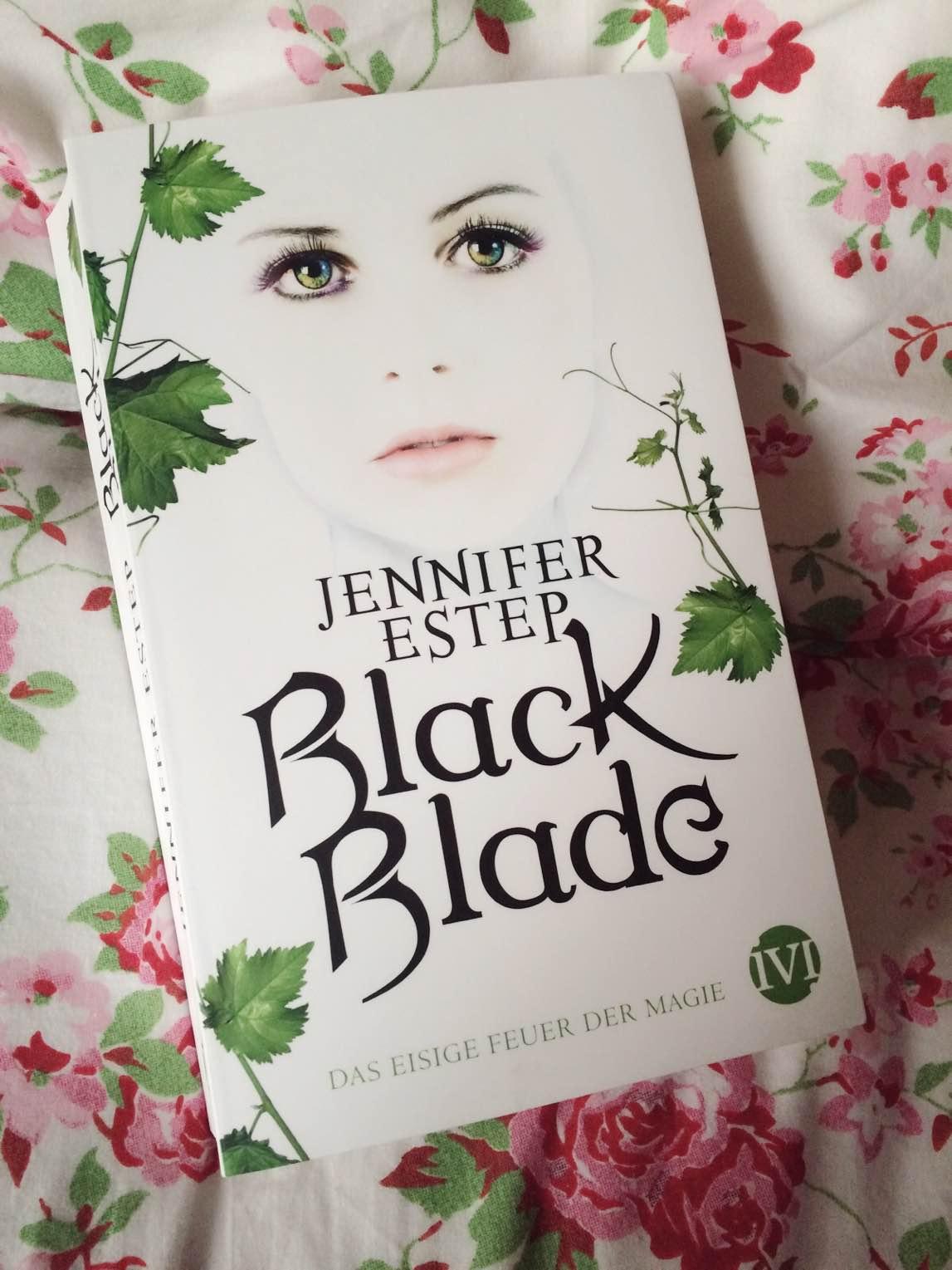 Buchvorstellung - Black Blade - Das eisige Feuer der Magie von Jennifer Estep