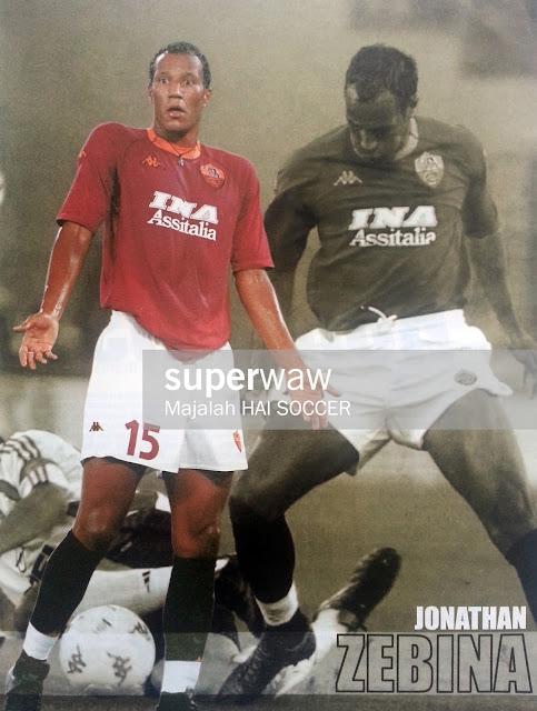 Pin up Jonathan Zebina (AS Roma 2000)
