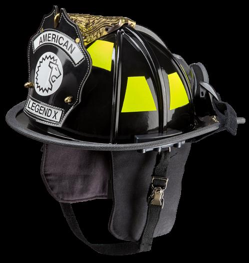 LION American Legend X Fiberglass Helmet, NFPA
