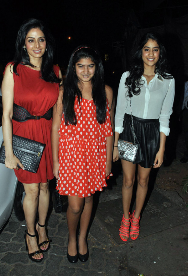 Sridevi Daughter Jhanvi Latest Photos In White Shirt