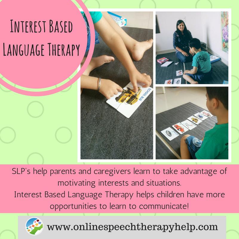 Online speech help