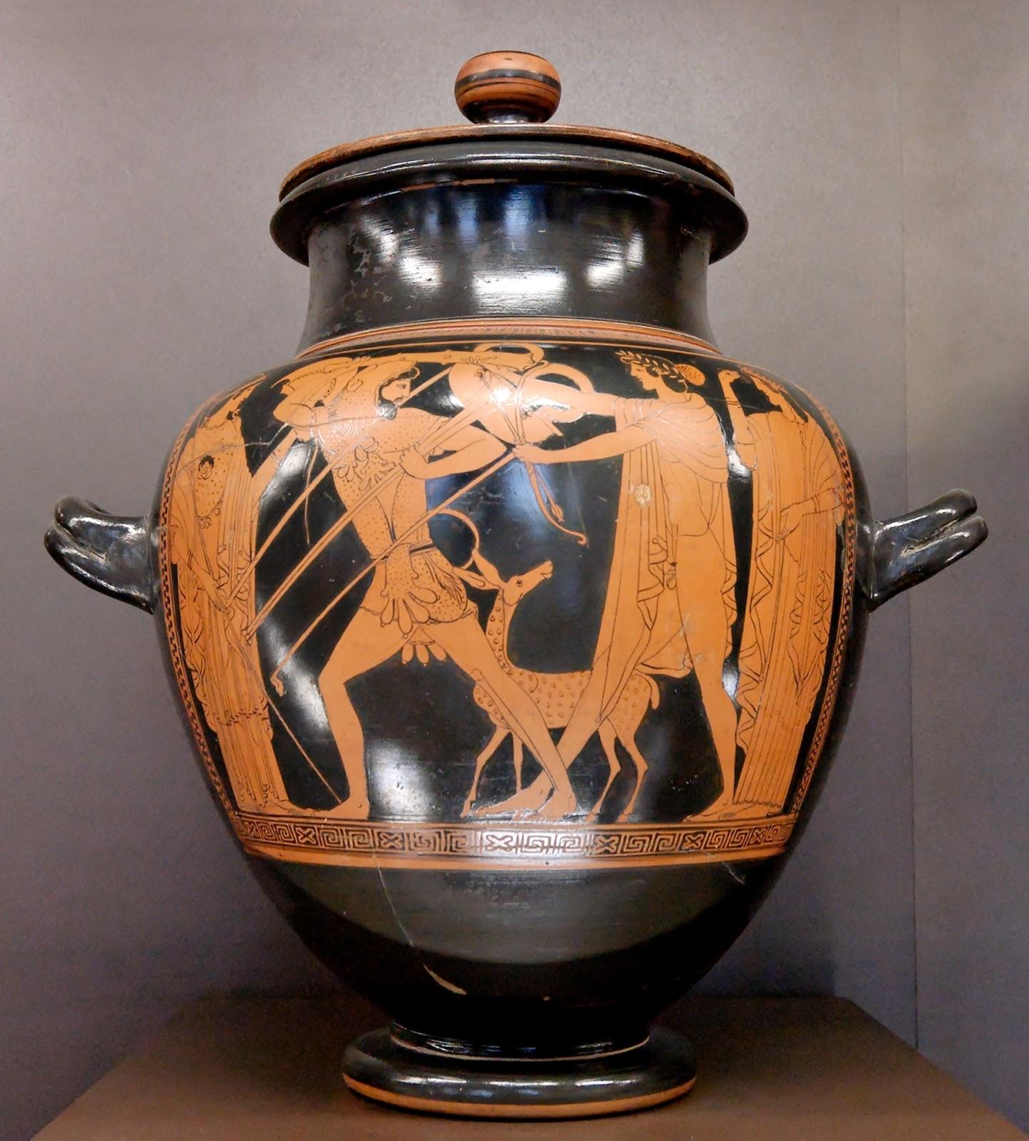 Artedisliceo i vasi greci for Vaso greco a due anse