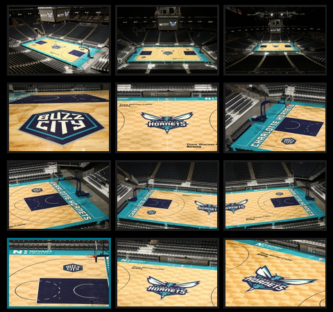 Charlotte Hornets Court Design Revealed