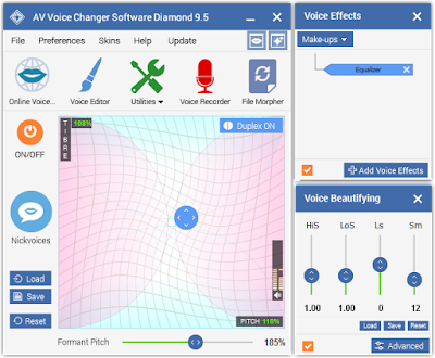 Discover the most fun Live Voice Changer