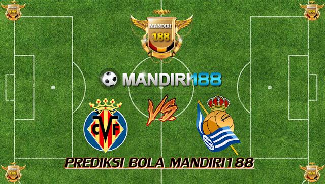 AGEN BOLA - Prediksi Villarreal vs Real Sociedad 28 Januari 2018