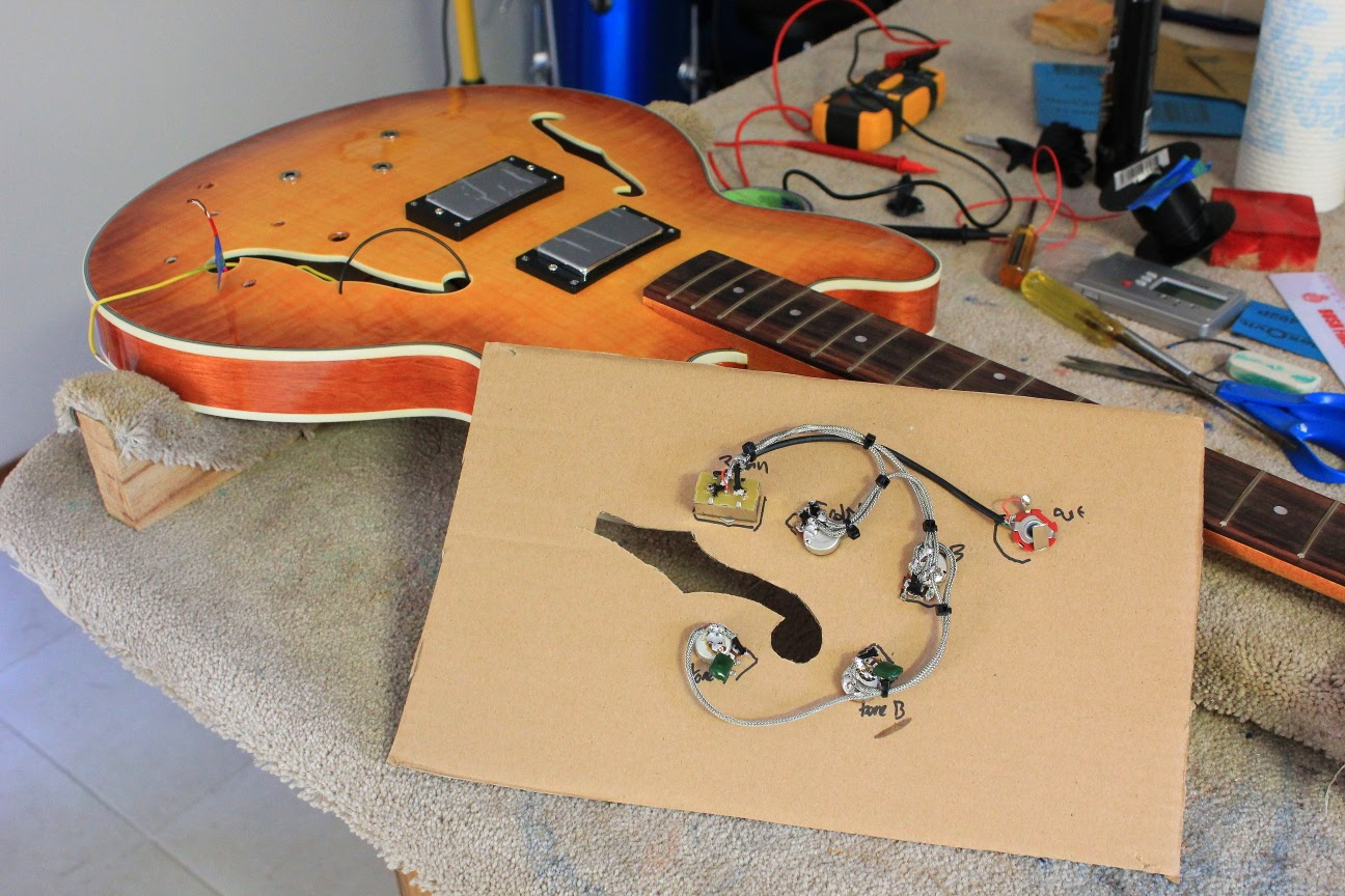 small resolution of semi hollow body guitar wiring diagrams