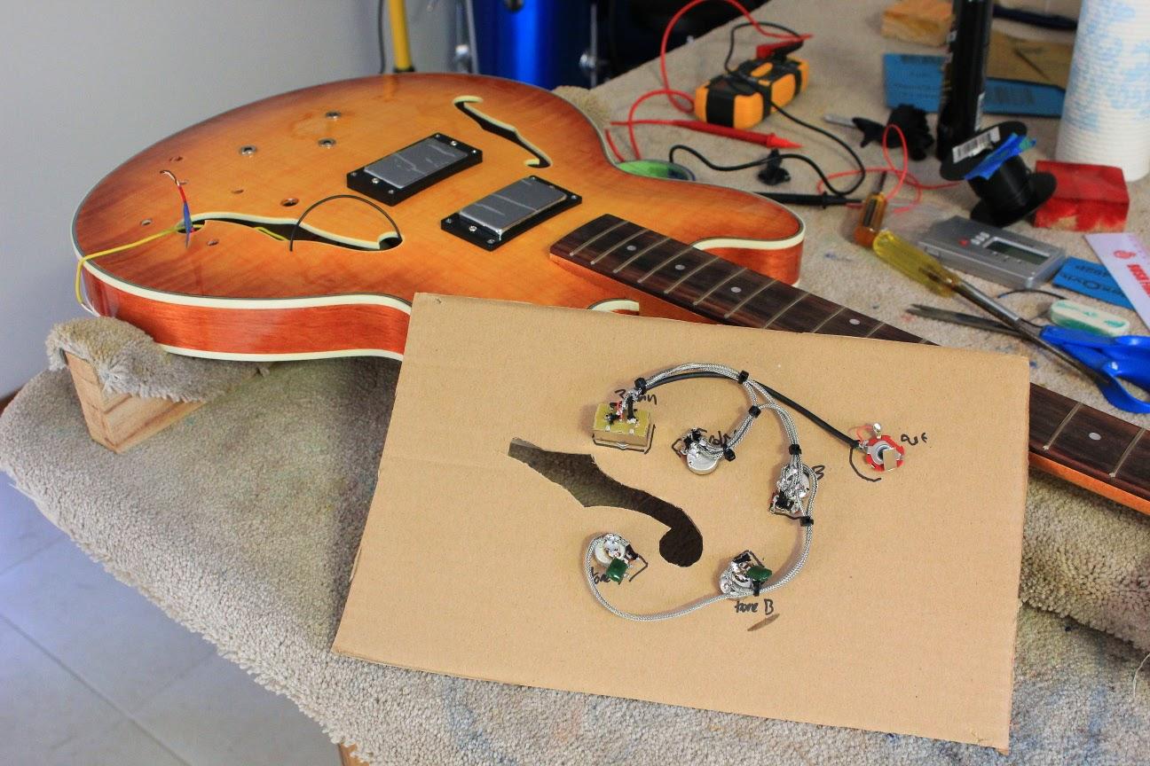 medium resolution of semi hollow body guitar wiring diagrams