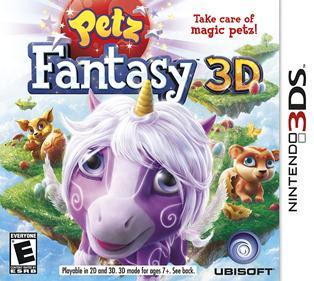 Petz Fantasy 3D, 3DS, español, mega, mediafire