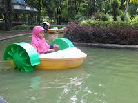 Wahana Air Perahu Onthel Makin diminati Anak