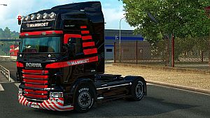 Mammoet skin for all trucks